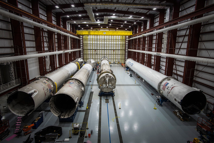 Phần quan trọng nhất của chiếc tên lửa vẫn còn và được phục hồi lại.