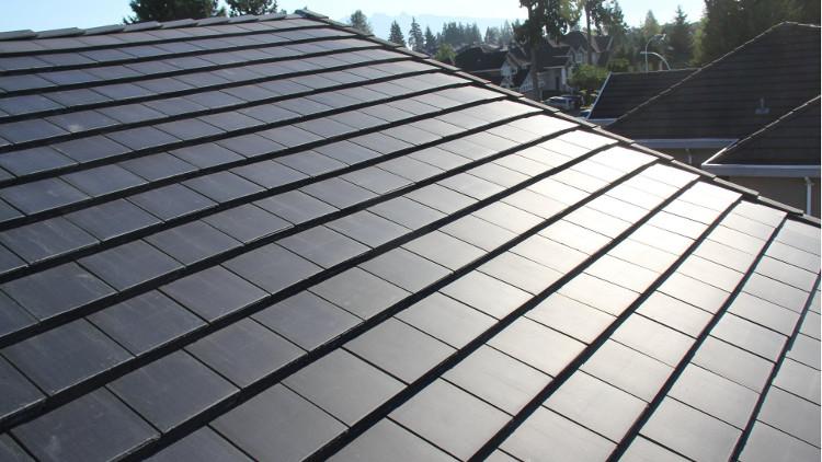 Tesla đã hợp tác với SolarCity để tạo ra những Tấm Lợp Mặt Trời.