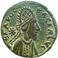 Hình ảnh nghi chân dung Chúa Jesus trên đồng xu cổ