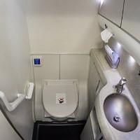 """Bạn có biết """"giờ vàng"""" để đi vệ sinh trên máy bay?"""