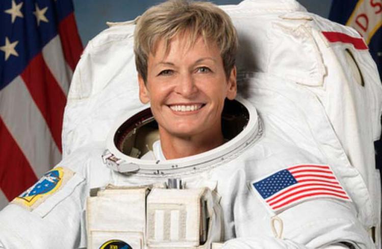 Nhà du hành vũ trụ người Mỹ Peggy Whitson.