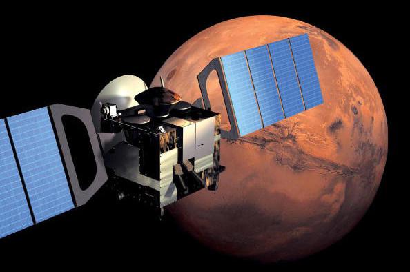 Tàu thăm dò không gian MAVEN có nhiệm vụ thu thập dữ liệu về sao Hỏa.