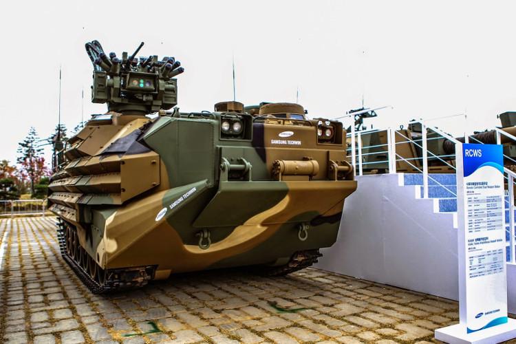 Xe chiến đấu bộ binh chở quân đổ bộ lội nước KAAV