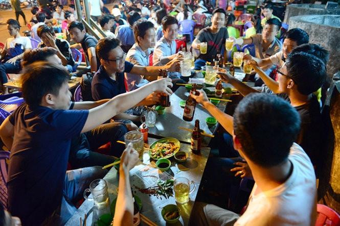 Sài Gòn ăn nhậu nhiều nhất nên chiếm 1/3 so với cả nước.