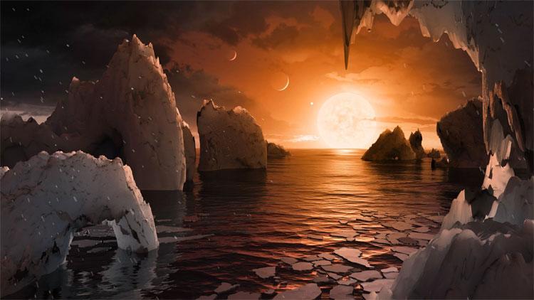 Hệ sao TRAPPIST-1 rất kém ổn định.