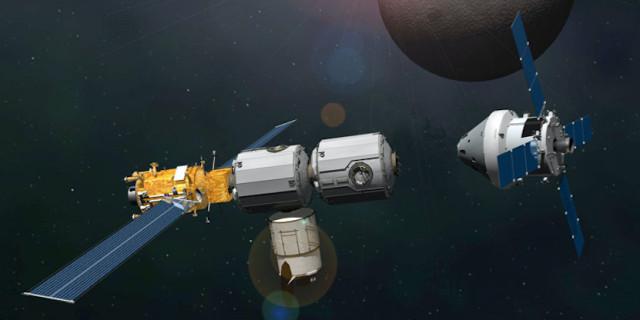 NASA đang lên kế hoạch xây dựng một trạm không gian chuyển động quanh quỹ đạo của Mặt Trăng.
