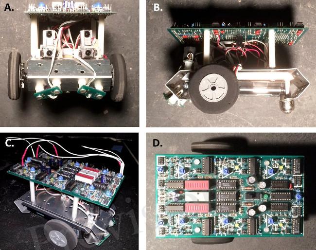 Sau 10 thế hệ, biểu hiện vật lý của robot đã tiến hóa lên bước mới