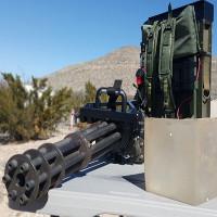 Xem súng máy 6 nòng M134 Minigun nhả đạn nhanh như chớp