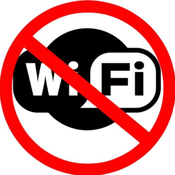 Hãy tắt bộ phát wifi khi không cần thiết.
