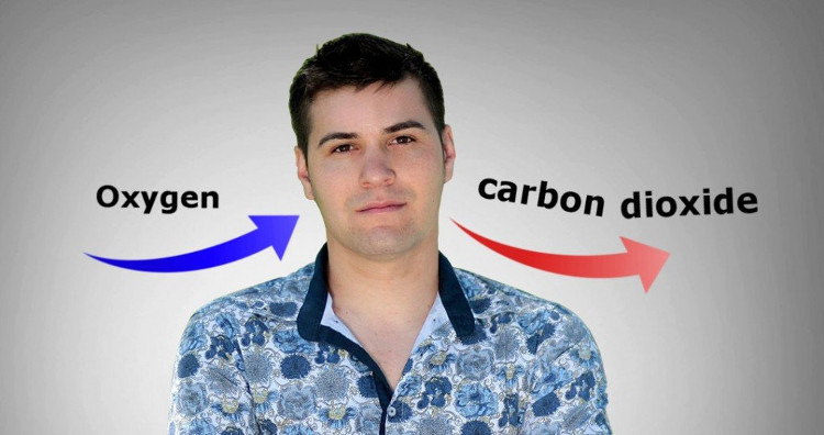 Carbon dioxide là một sản phẩm lãng phí của quá trình trao đổi chất và sinh hóa.