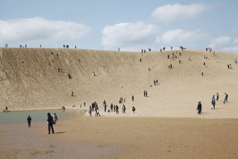 Cồn cát dài vô tận ở Tottori.