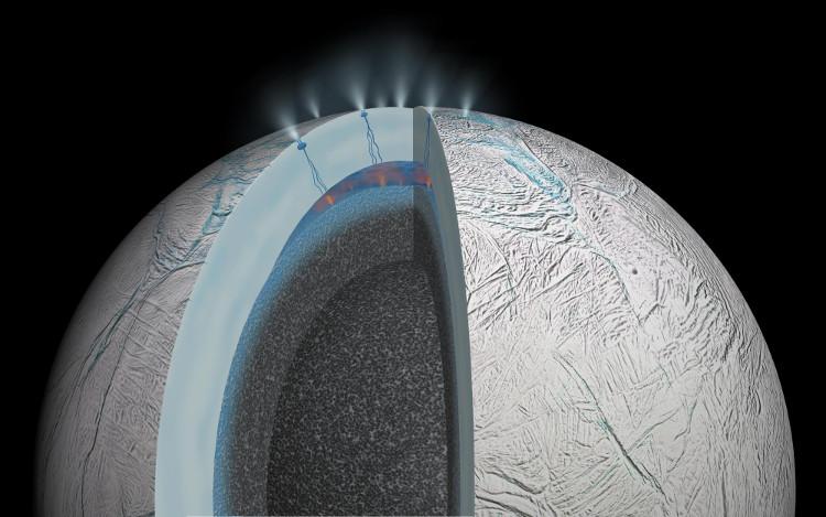 Enceladus được cho là ứng cử viên tiềm năng ẩn chứa sự sống.