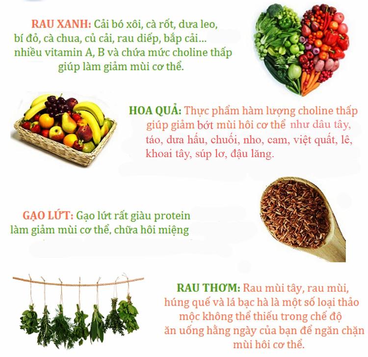 Gạo lứt giàu protein làm giảm mùi cơ thể, chữa hôi miệng.