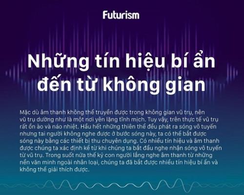 Hầu hết những thiên thể đều phát ra sóng vô tuyến nhưng tai người không nghe được ở bước sóng này