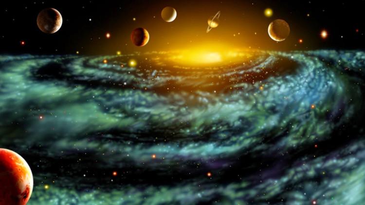 Vật chất, ánh sáng và các loại bức xạ khác tràn xa ngày càng mỏng dần khi vũ trụ giãn nở.