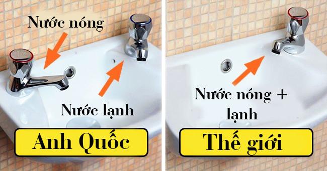 Anh Quốc cũng là nơi duy nhất trên thế giới có những chiếc bồn rửa kỳ lạ này