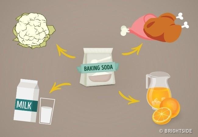 """Baking soda là một """"gia vị"""" tuyệt vời."""