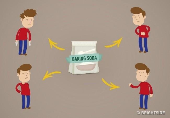 Bạn có thể sử dụng baking soda để xử lý một số bệnh thông thường