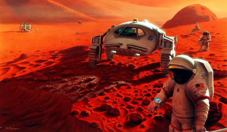 Nhiệm vụ sao Hỏa đòi hỏi một chế độ ăn khác lạ.