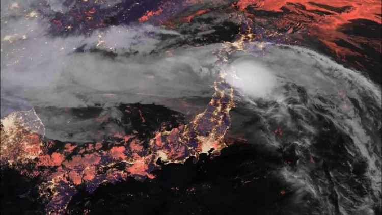 Những cơn bão ở châu Á ngày càng mạnh lên.