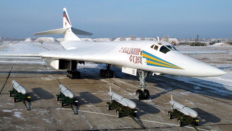 Tên lửa Kh-55 được thiết kế để phóng từ máy bay ném bom chiến lược của Không quân Nga.