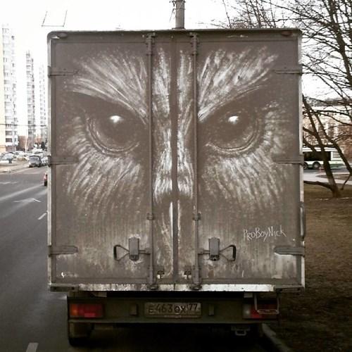 Nikita đã biến những chiếc ô tô bẩn thành những tác phẩm nghệ thuật tuyệt vời