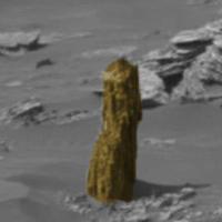 """""""Khúc cây"""" cổ đại trên sao Hỏa"""