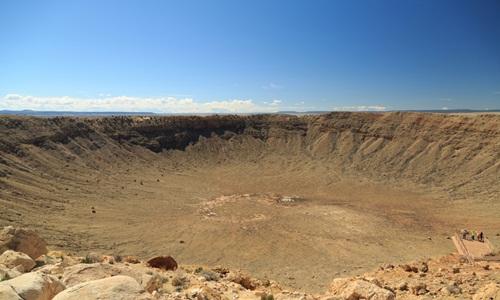 Vụ va chạm giữa tiểu hành tinh với mặt đất có thể tạo ra miệng hố lớn