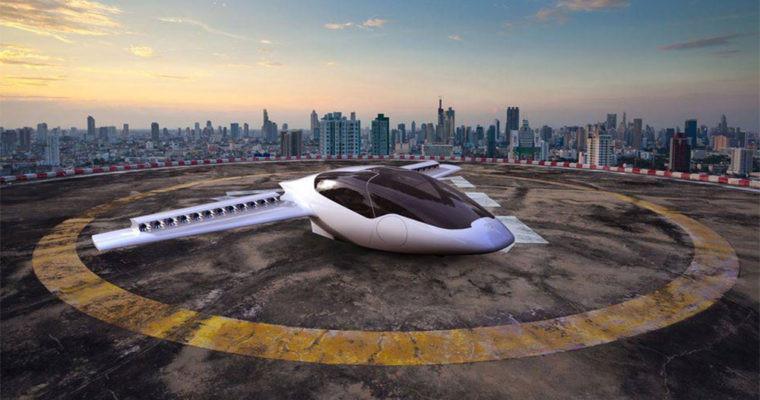 Ô tô bay này có thể chở 2 người và có 36 động cơ nhỏ trên cánh