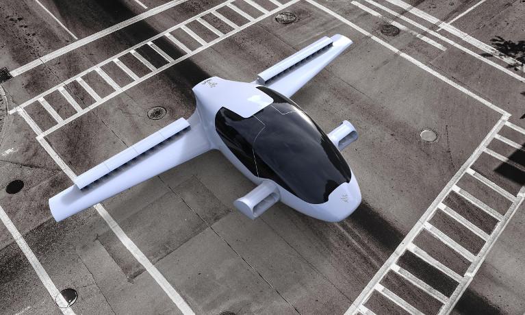 Hiện nay, công ty đang tham vọng thực hiện taxi bay 5 chỗ