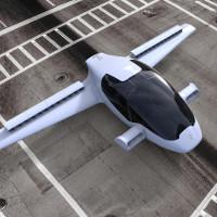 Ô tô bay cất cánh thẳng đứng với vận tốc 300km/h