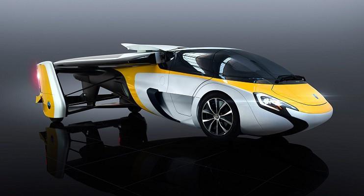 Chiếc xe vừa là ô tô vừa là máy bay