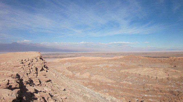 Atacama là một sa mạc khô cằn nhất thế giới