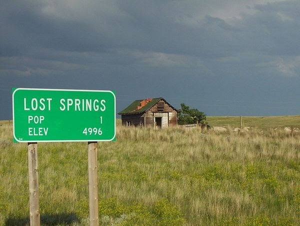 Lost Springs, Wyoming