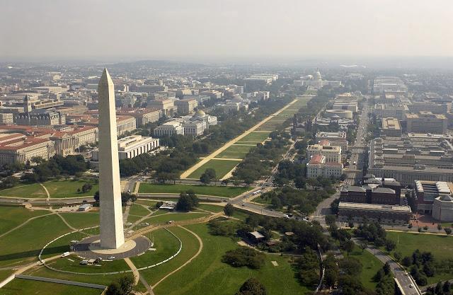 Tượng đài Washington ở thủ đô Washington, Mỹ