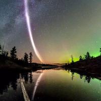 Chào Steve, hiện tượng cực quang đẹp tuyệt vời mới được phát hiện!