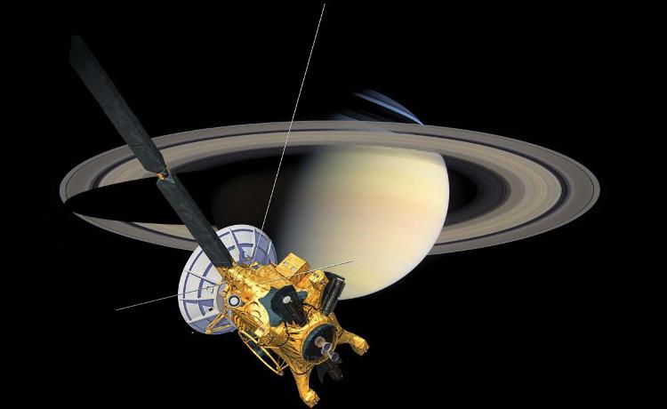 Tàu vũ trụ Cassini.