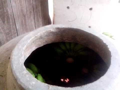 Cách ủ chuối bằng hương.