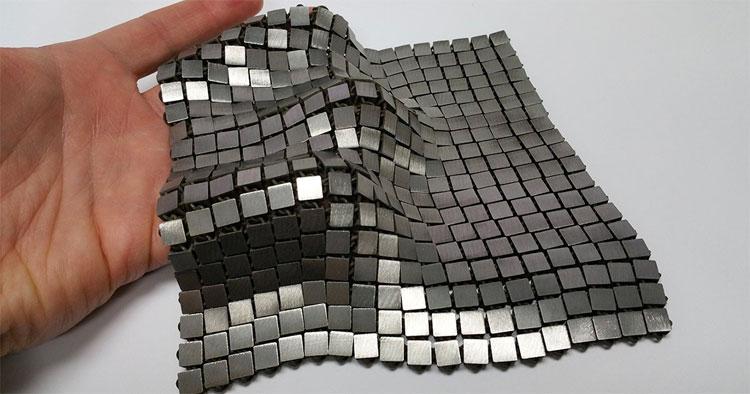 Vật liệu này có thể sản xuất dễ dàng.