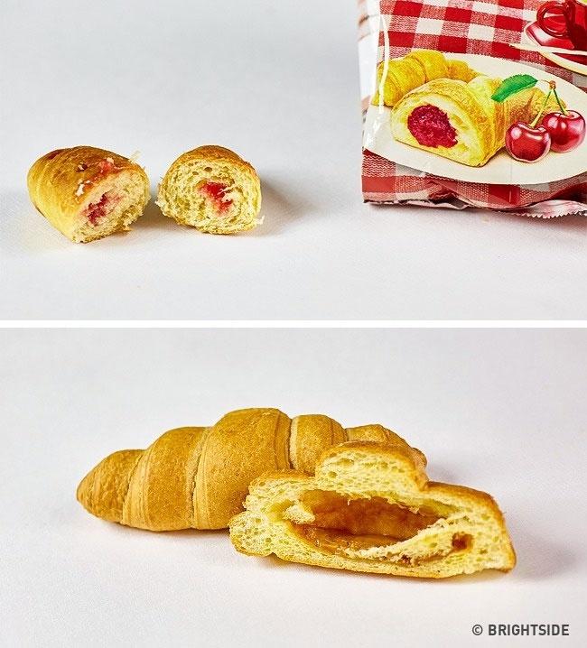 """Các sản phẩm bánh kẹo thường được """"thổi phồng"""" lên để trông hấp dẫn, đầy đặn."""