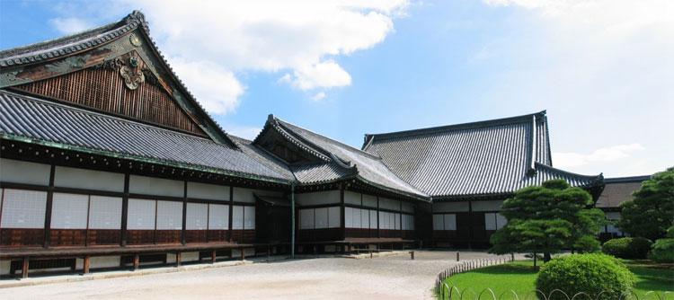 Cung điện Ninomaru ở Lâu Đài Nijo.