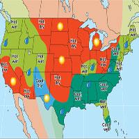 Bản đồ thời tiết hiện đại được tạo ra như thế nào?