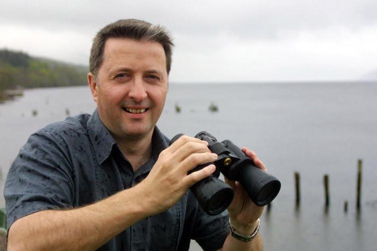"""Gary Campbell cho biết về sự """"mất tích"""" của quái vật hồ Loch Ness suốt hơn 8 tháng qua."""