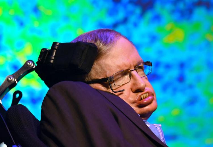 Nhà khoa học lừng danh Stephen Hawking.