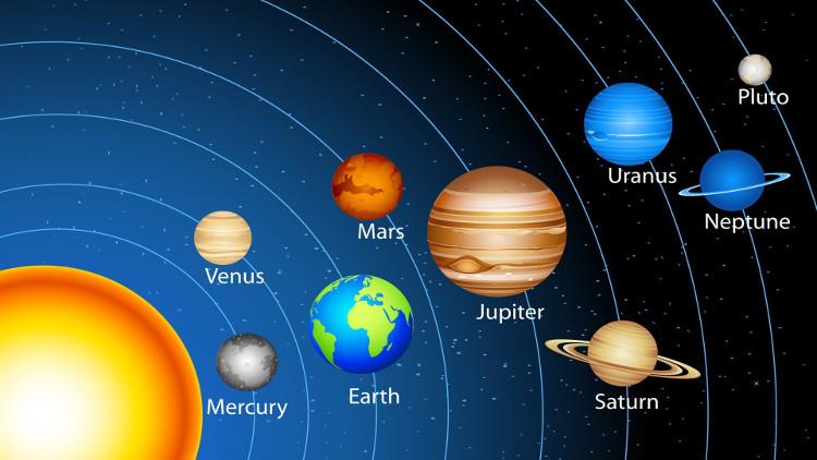 Hệ Mặt Trời của chúng ta.