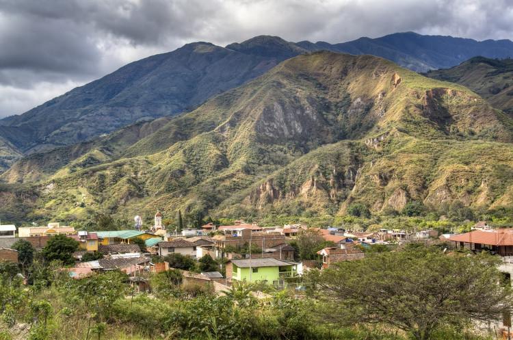 Vilcabamba là một thung lũng nhỏ nằm ở lưng chừng dãy Andes.
