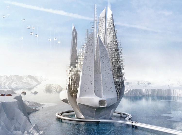Tòa nhà chọc trời dành cho cư dân đô thị và chiến đấu chống biến đổi khí hậu.