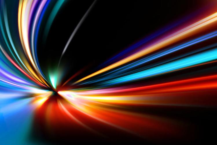 Ánh sáng chuyển động với một vận tốc gần 300.000 km/giây.
