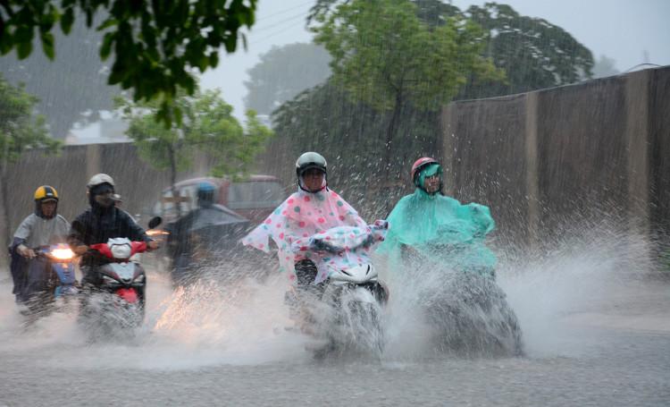 Trong khoảng ngày 14-15/5, ở Bắc Bộ và Bắc Trung Bộ có khả năng xảy ra mưa vừa, mưa to.