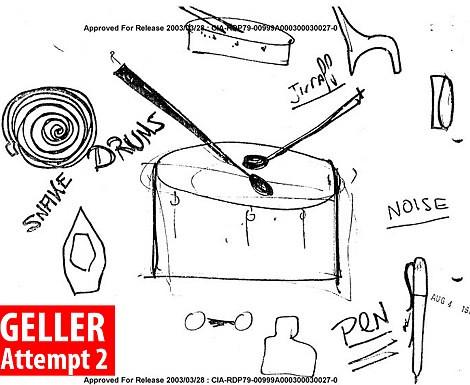 Hình vẽ mà Geller thảo ra là một chiếc trốn